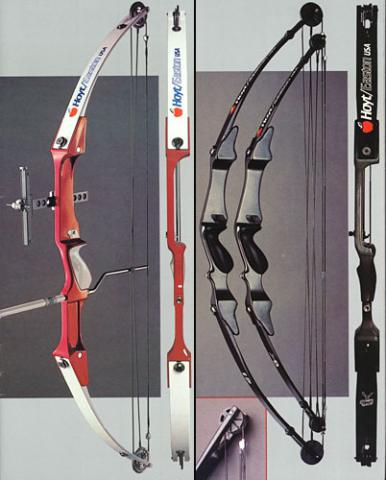 "Hoyt Archery: ""Contender"", ""Button Buck"", ""Stag"" (1984 г.)"
