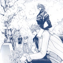 Крашерс I - Конь и Ран на могиле г-жи Сакакибара